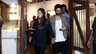 Shahid Kapoor Takes His Pregnant Wife Mira Rajput For Dinner Date