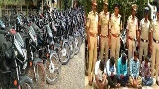 Biggest Bike Offenders Of Hyderabad Got Arrested | 47 Bikes Recovered | @ SACH NEWS |