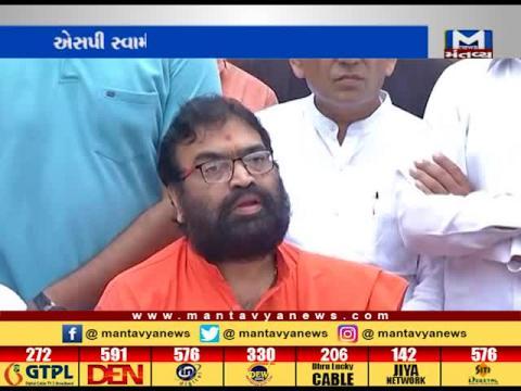 Hardik Patel gets emotional on his 7th dy at indefinite Hunger Strike