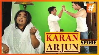 Karan Arjun Kabhi Nahi Ayenge   Karan Arjun Spoof