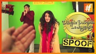 'Simran' Loses 'Raj' To Smoking | DDLJ Spoof