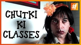 Chutki Ki Classes With Famestars | Gaurav Gera