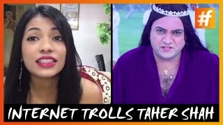 Troll Video | Internet Trolls Taher Shah's Angel New Song | #fame Comedy