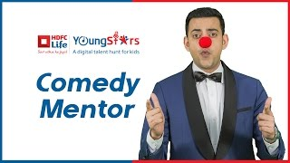 HDFC Life YoungStars Cyrus Sahukar Mentor for Stand- Up Comedy - Upload your Videos NOW!