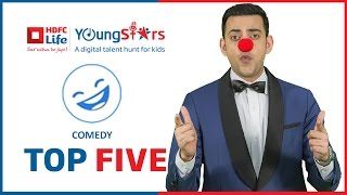 Top 5 Shortlisted Contestants - Standup Comedy - HDFC Life Youngstars