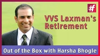 fame cricket - VVS Laxman's Retirement : Out of the Box with Harsha Bhogle