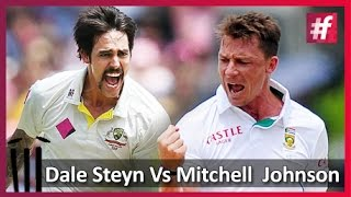 fame cricket​​ Dale Steyn Vs Mitchell  Johnson : Who is Better?