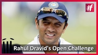 fame cricket -​​ Rahul Dravid's Open Challenge To Harsha Bhogle