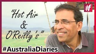 Australia's Largest Hot Air Balloon Ride #AustraliaDiaries