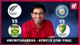 fame cricket​​ WCwithHarsha CWC15 Quarter-Final Review | Semi Final Preview | Harsha Bhogle