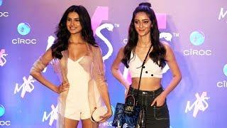Student Of The Year 2 Actresses Tara Sutaria And Ananya Pandey At Shweta Bachchan MxS Label Launch