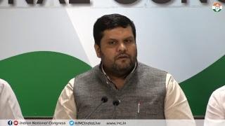 First Quarter GDP Growth: AICC Press Briefing By Prof. Gaurav Vallabh at Congress HQ