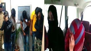 Mujra Party 3 Girls And 6 Boys Got Arrested   Birthday Celebration With Girls .