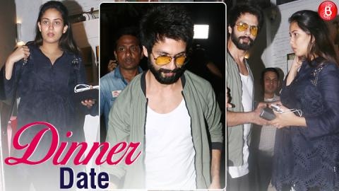 Shahid Kapoor steps out for a romantic dinner date with wife Mira Rajput