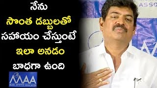 MAA President Sivaji Speech @ MAA Association Press Meet | Naresh | Rajendra Prasad