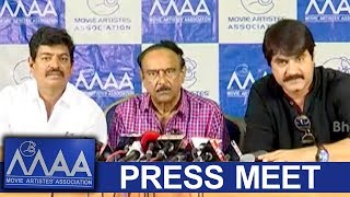 MAA Association Press Meet - MAA Association Gives Clarity on Funds Distribution Allegations