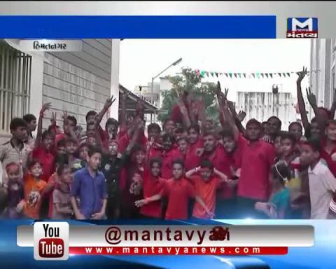 HIMMATNAGAR _ SARADRKUNJ SOCIETY organizes Janmashtami celebration