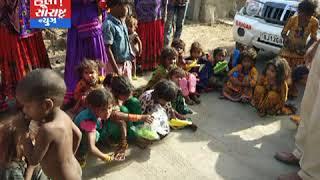 લીંબડી-પોલીસ જવાનોની સન્માનીય કામગીરી ગરીબ બાળકોને ચપ્પલ વિતરણ કરાયા