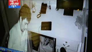જામનગર-કવાડ કંટ્રક્સનની દુકાન માંથી 17લાખની ચોરી ઘટના CCTV માં કેદ