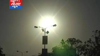 રાજકોટ સહીત સમગ્ર સૌરાષ્ટ્રમાં આગ ઓકતું આકાશ લોકો ત્રાહિમામ