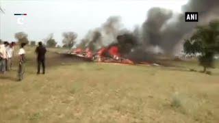 Indian Air Force MiG 27 crashes near Jodhpur, pilot safe