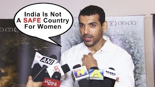 India Is Not A SAFE Country For Women, Children And Animals, Says John Abraham