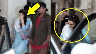 Sara Ali Khan Hiding Her Face From Media, Spotted At Dance Rehearsal