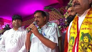 Delhi CM Arvind Kejriwal Attends Janmashtami Park , at Panchkuian Road