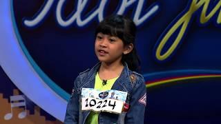 Junior yang satu ini menyanyi dengan gayanya yang menggemaskan! - Indonesian Idol Junior 2018