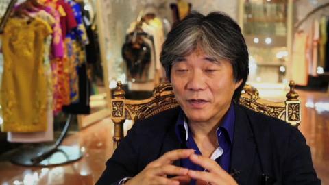 Fashion designer Guo Pei
