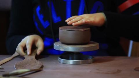 Production Process of Zisha Clay Teapots
