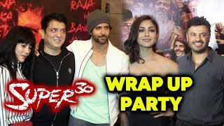 SUPER 30 Wrap Up Party | Full Video | Hrithik Roshan, Mrunal Thakur, Sajid Nadiadwala, Vikas Bahl