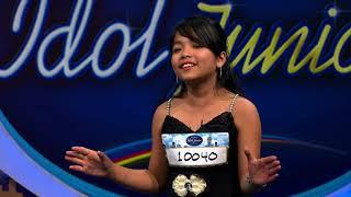 Suara Junior ini mampu meluluhkan hati Bunda Maia - Indonesian Idol Junior 2018
