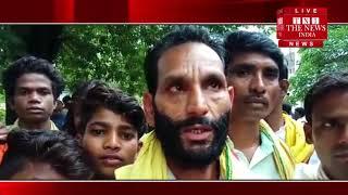 गोंडवाना गणतंत्र पार्टी के बैनर तले आदिवासियों ने अपनी मांगों को लेकर एसडीएम को सौंपा ज्ञापन