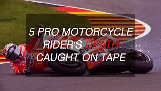 5 Pro motorcycle riders death caught live | MotorcycleDiaries.in