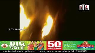 Jewargi Mein Electric Wire Girne Se Ek Khatoon Ki Maut A.Tv News 5-8-2018