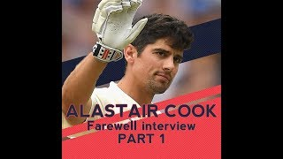 Alastair Cook Farewell Press Conference | Part 1 | The Oval | Cook's Last Test