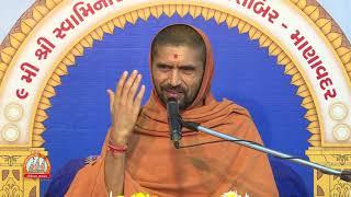 Vyakhyanamala At Manavadar Shibir 2018 Day 4
