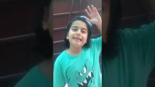 Bakra eid excitement | Cute Girl Fatima | Viral Video