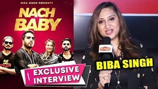 NACH BABY Song | Singer Biba Singh Exclusive Interview | Mika Singh