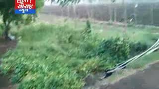 સોમનાથ ઉના સહીત ના વિસ્તરોમાં વરસાદ પડતા લોકો માં ખુશી
