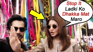 Anushka Sharma ANGRY On Male Reporter For Pushing Female Reporter
