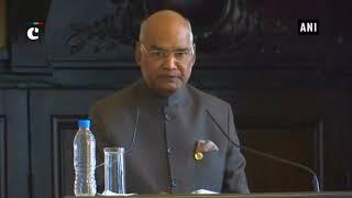 President Ram Nath Kovind visits Sofia University