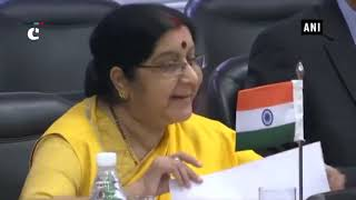 Confident our meeting will help unleash untapped potential of our relations: EAM Swaraj