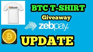 CRYPTO NEWS #181 || ZEBPAY UPDATE, BTC T-SHIRT GIVEAWAY