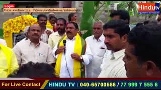 Sattupalli CC Roads shankusthapana // HINDUTV LIVE //