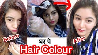 How to Colour hair at Home - Global Colour - Cover White Hair | JSuper kaur