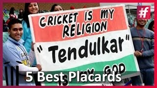 5 Eye Catching Placards To Take For A Match fame