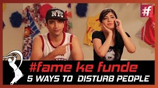 fame cricket fame ke funde 5 Ways To Disturb People While Watching A Match - #fame