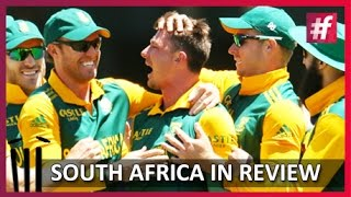 fame Cricket - South Africa Cricket Team - Review - South Africa Tour of India 2015